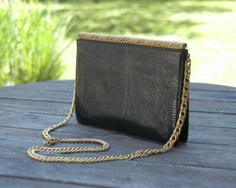 Vintage and Stunning Koret Lizard Shoulder Bag