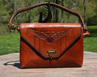 Vintage Meeker Made Masterpiece Adjustable Shoulder Bag
