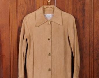 Vintage Samuel Roberts Chamois Suede Jacket