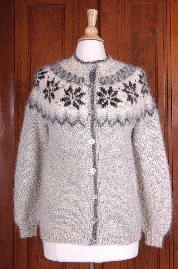RESERVED FOR C   Vintage 1970's Hand Made Fair isles Scottish Sweater