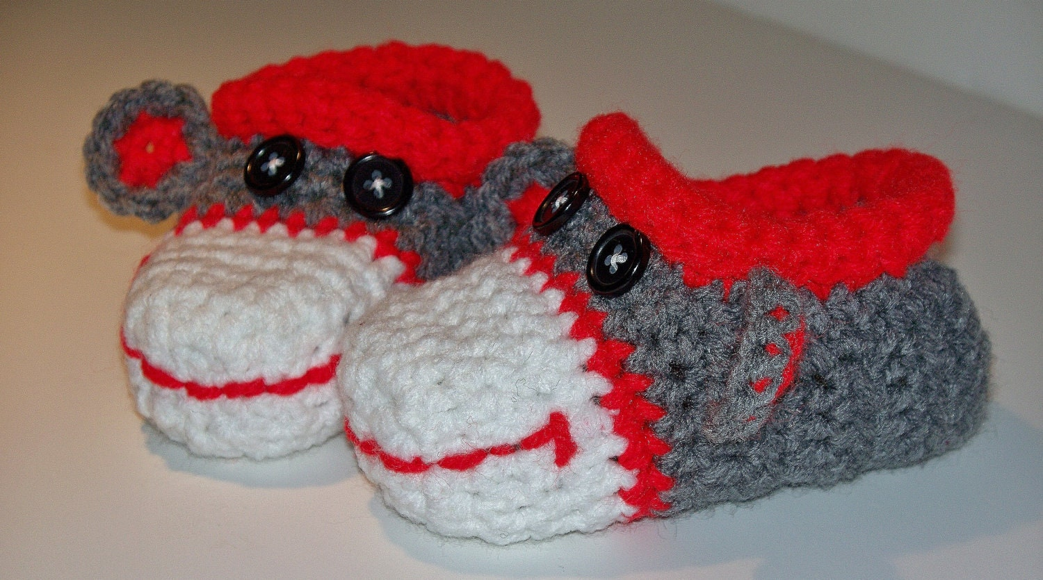 Free Crochet Pattern Sock Monkey Slippers : Sock Monkey Crochet Pattern www.galleryhip.com - The ...