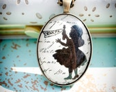 Oh Alice - Glass Pendant Necklace