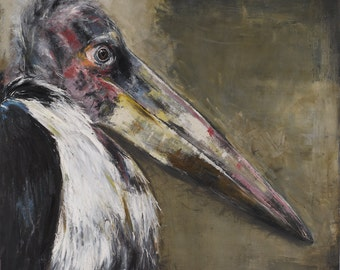 Marabou - Signed Limited edition print size 3