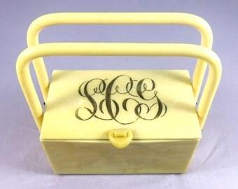 1950's Lucite Purse- Vintage Handbag