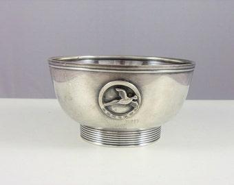 """Lunt Sterling Silver Trophy Bowl """"Springer Puppy"""""""