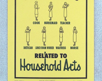 WPA Poster No.4 The Household Arts