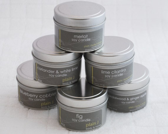 Soy Candle Tins - Wholesale - Qty: 25