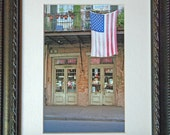 Storefront with Flag New Orleans