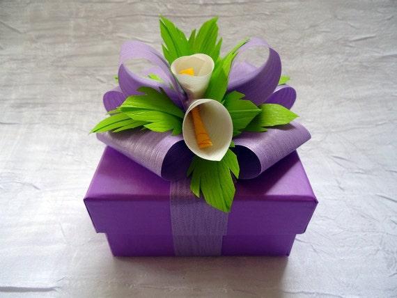 Lavendar Jewelry Gift Box