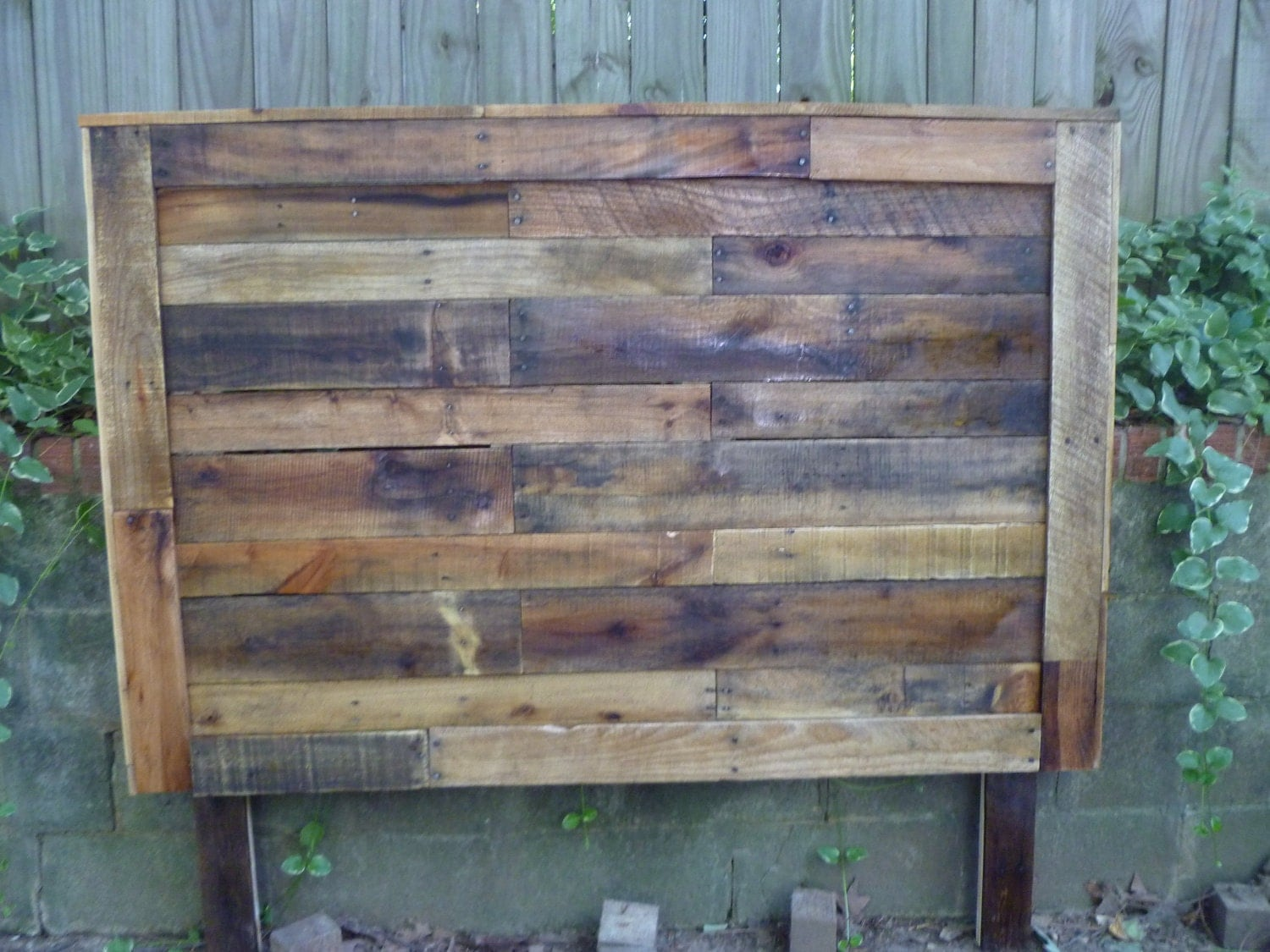 pallet headboards queen size