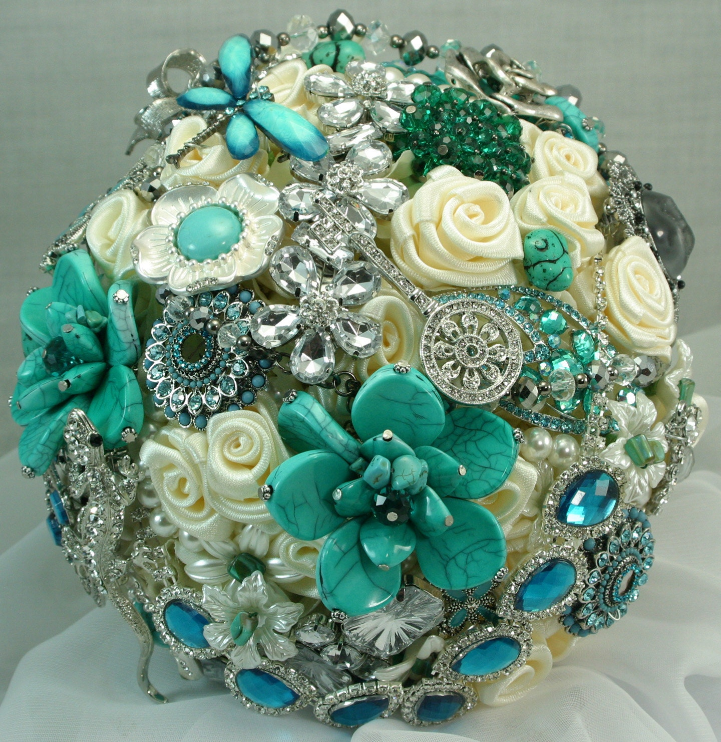 Turquoise Flowers For Wedding: Your Place To Buy And Sell All Things Handmade