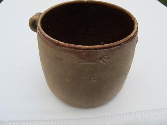 "French confit pot made by ""GrandJean Jourdan"""