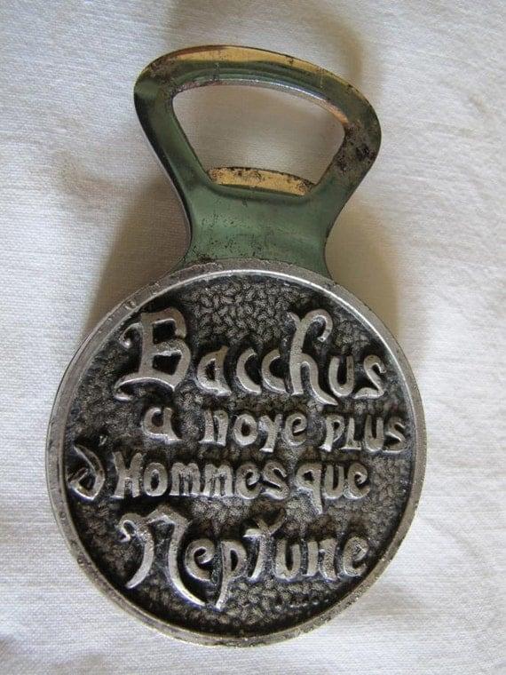 vintage french bottle opener. Black Bedroom Furniture Sets. Home Design Ideas