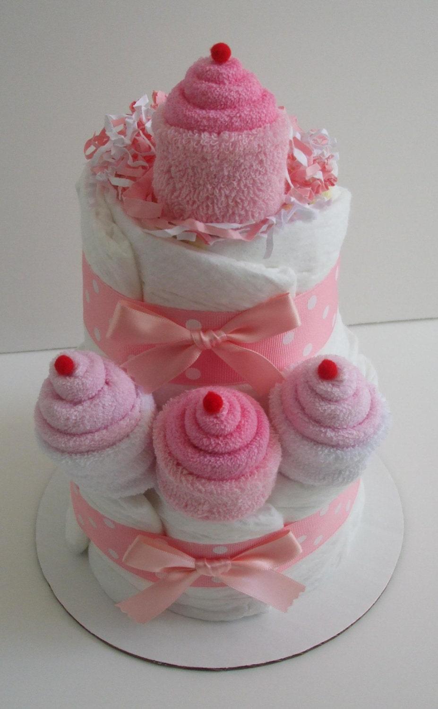 Cupcake Nappy Cakes