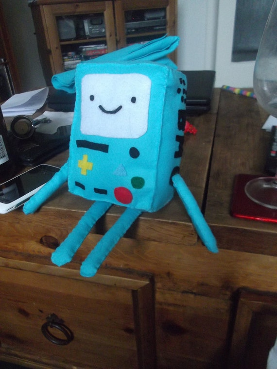14cm Beemo (Adventure Time) plushie