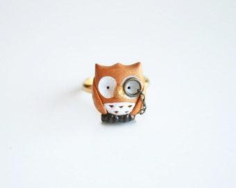 Albert the owl ring