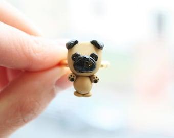 Bogey the Pug ring