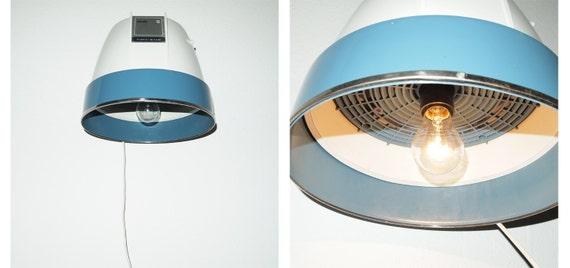 Lamp (reincarnated seventies hair dryer)