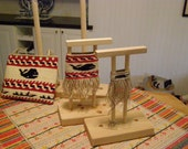 Handmade Baby Woodland Loom for Twining Small Flat Bags