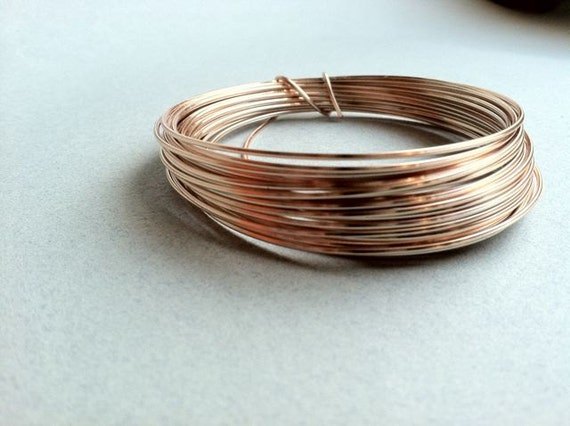 Square Gold wire. 20 gauge, 15 feet.