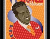 Art Deco Rhythm & Blues Artist Poster