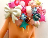 Candy Glam Electro Pop Chunky Kawaii Cute Bracelet