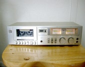 1981 Vintage Technics M205 cassette Tape player works great