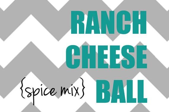 VEGAN Ranch Cheese Ball Spice Mix
