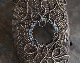 The Forgotten bracelet copper wire wrapped. Example.