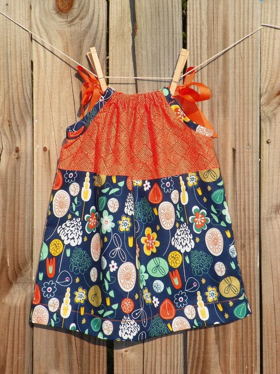 Early Summer Pillowcase Dress--Size 2T