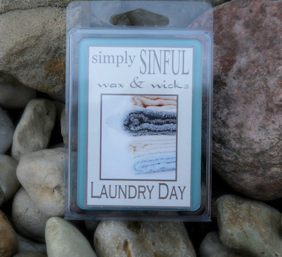 Laundry Day   scented long lasting wax melts tarts