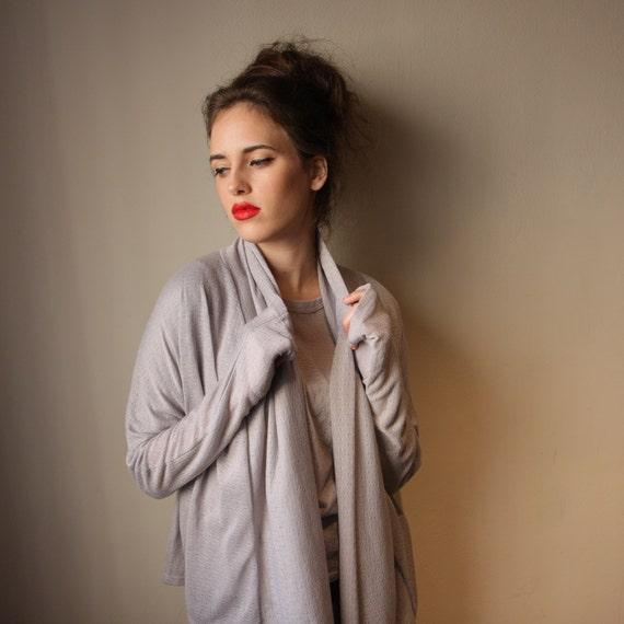 Women Cardigan Gray, Women Jacket Gray