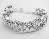 Silver bracelet design 2