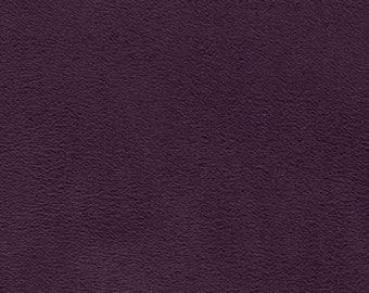 58'' Wide Vintage Suede Aubergine Fabric By The Yard - 1 Yard
