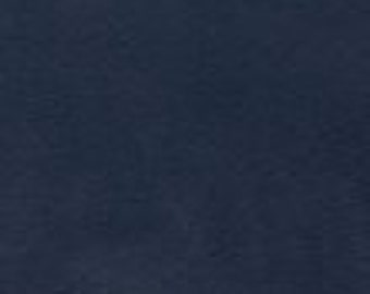 58'' Wide Suede Navy Blue Fabric by the yard - 1 Yard