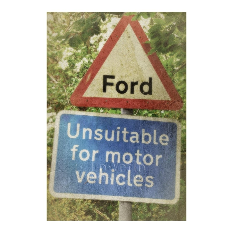 Funny Ford Signs Ford photograph humorous sign