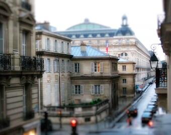 Paris Photography, Paris in the Rain, Romantic Travel, Parisian Decor, Travel Photography, Fine Art Photograph, French Decor, Paris Wall Art