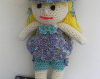 Garden Lilly Doll