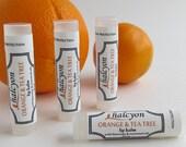 Lip Balm-Orange & Tea Tree