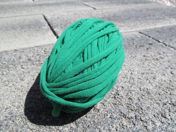 Green T-shirt Yarn 36 Yards 4.5 WPI