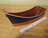 Custom Wooden Toy Boats