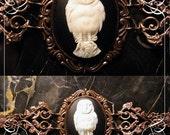 Owl cameo bracelet