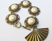 Bracelet Cacharel Paris 1980s