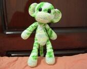 Crochet Key Lime Monkey