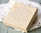 Chrysanthemum Snowflake Embroidered Gift Box