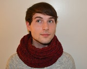 Rose Red Scarf