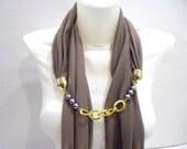 2012 Winter trends mink jersey  scarf, Women accessory