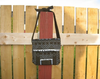 wool shoulder bag purse