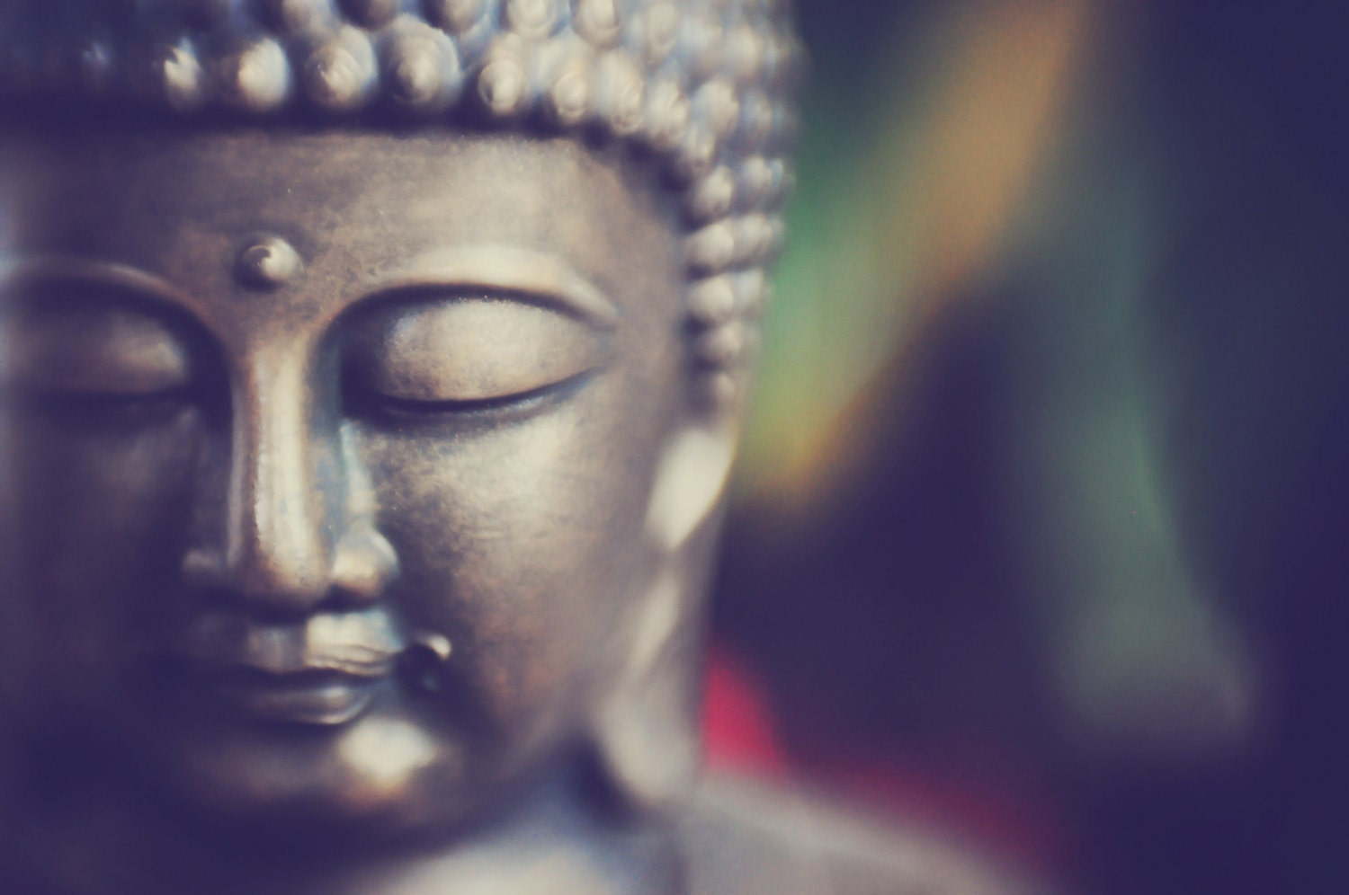Keep Calm Buddha fine art photograph zen by TheInnerLightPhotos