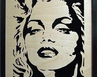 Marilyn Monroe - Framed Portrait